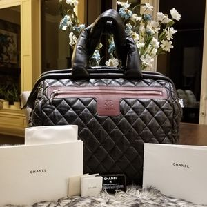Part 1 Chanel Coco Cocoon Trolley Traveling Bag
